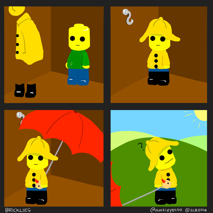 Bricklies: Lego Rain Gear