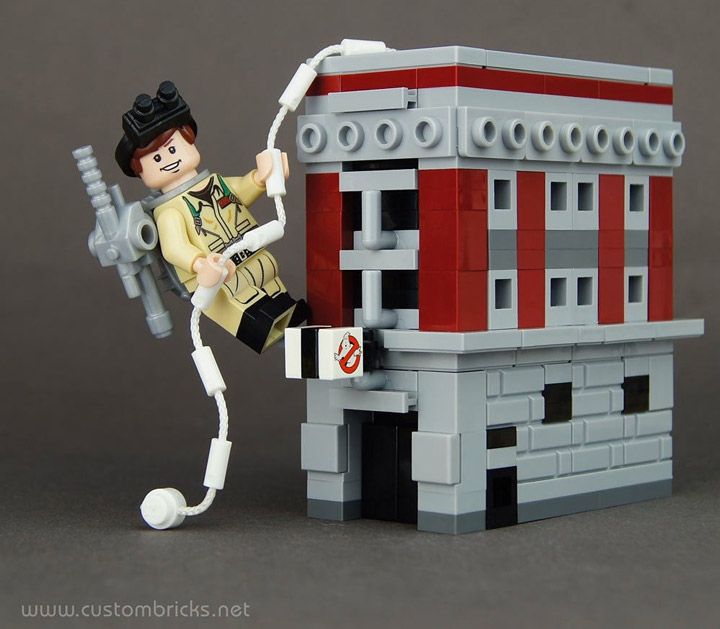 Kristi's Lego Ghostbusters Mini Headquarters