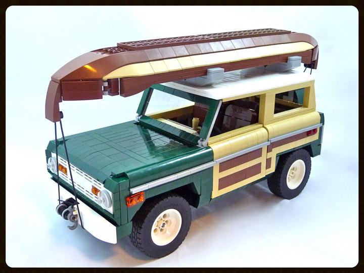 Lino Martins Lego 1974 Ford Bronco