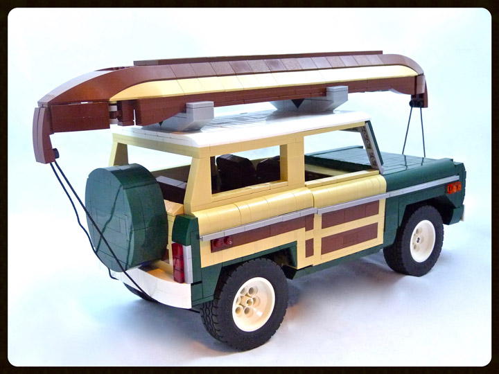 Lino Martins Lego 1974 Ford Bronco Rear