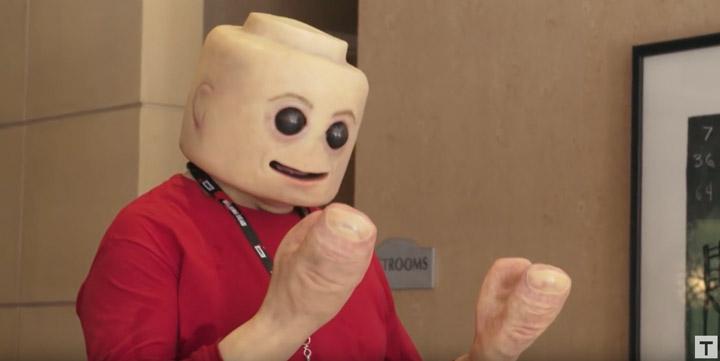 Tested Real Lego Minifigure SDCC