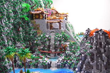 Ben Pitchfork Lego Samurai Code Detail