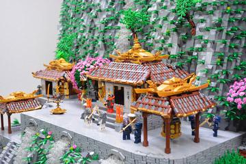 Ben Pitchfork Lego Samurai Temple