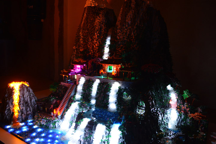 Ben Pitchfork Samurai Code Lego Project Night