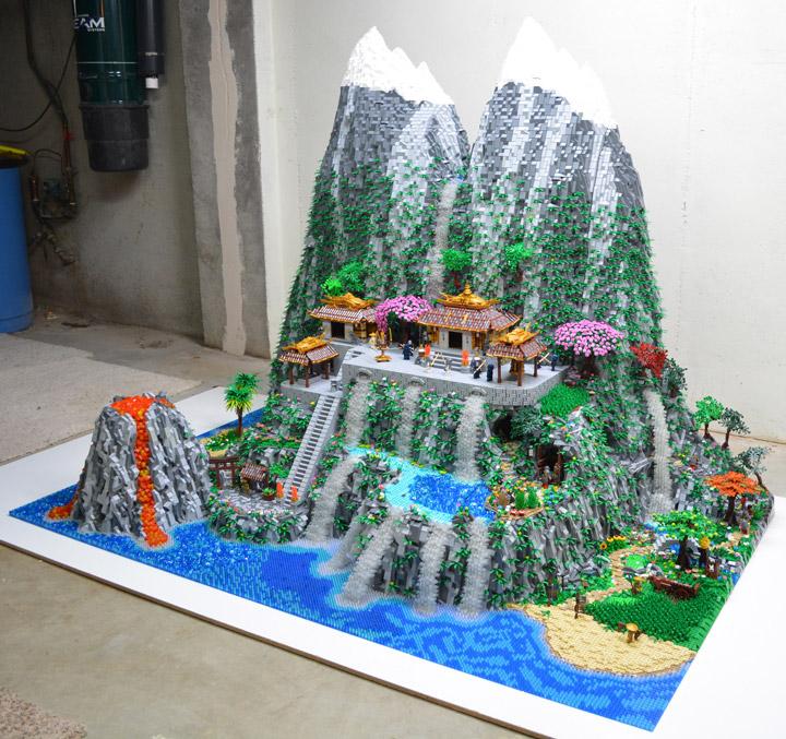 Ben Pitchfork Samurai Code Lego Project Light