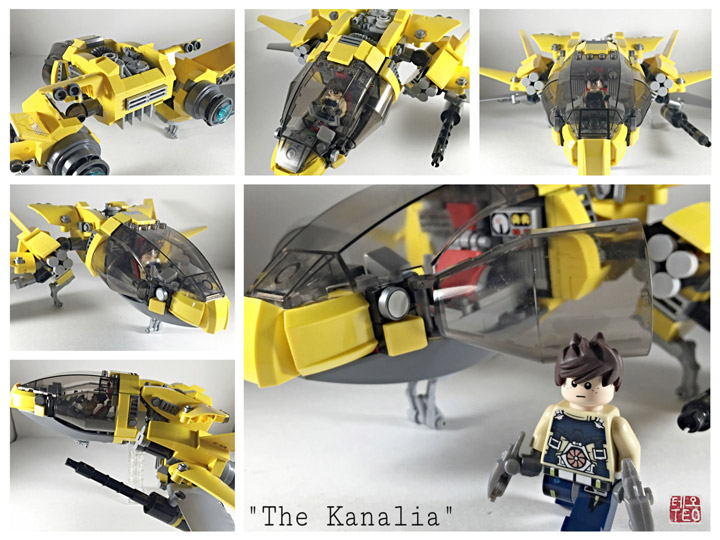 Eric Teo Lego MOC Star Fighter, The Kanalia