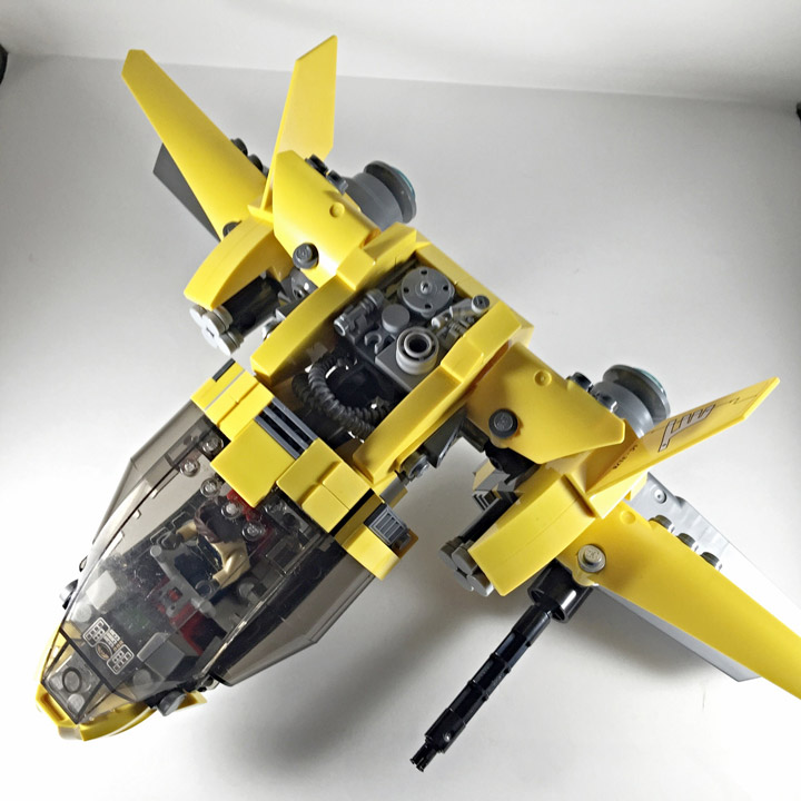 Eric Teo Lego MOC The Kanalia Spaceship