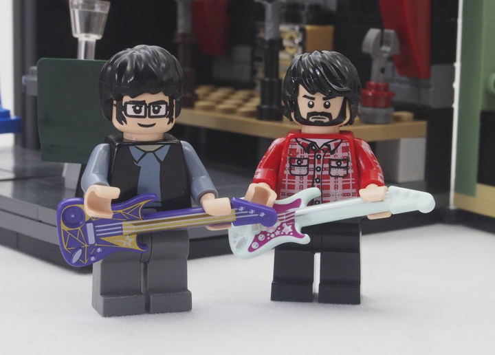 Grebe Lego Flight Of The Conchords FOTC