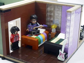 Grebe Lego Flight Of The Conchords Bedroom