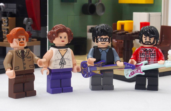 Grebe Lego Flight Of The Conchords FOTC Cast