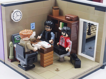 Grebe Lego Flight Of The Conchords Office