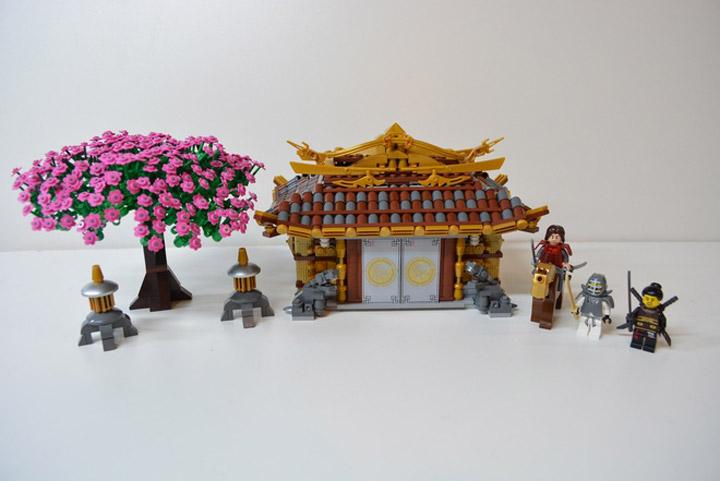 Lego Ideas Samurai Code