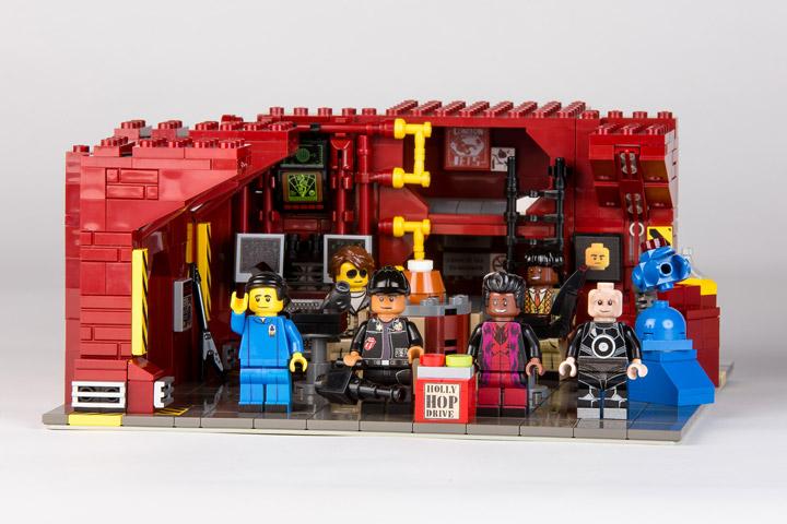 Legobob32 Red Dwarf Lego Set