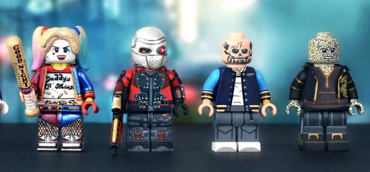MGF Lego Suicide Squad Custom Figures