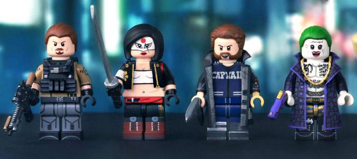 MGF Lego Suicide Squad Custom Minifigs