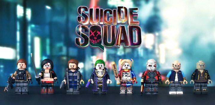 MGF Lego Suicide Squad Custom Minifigures