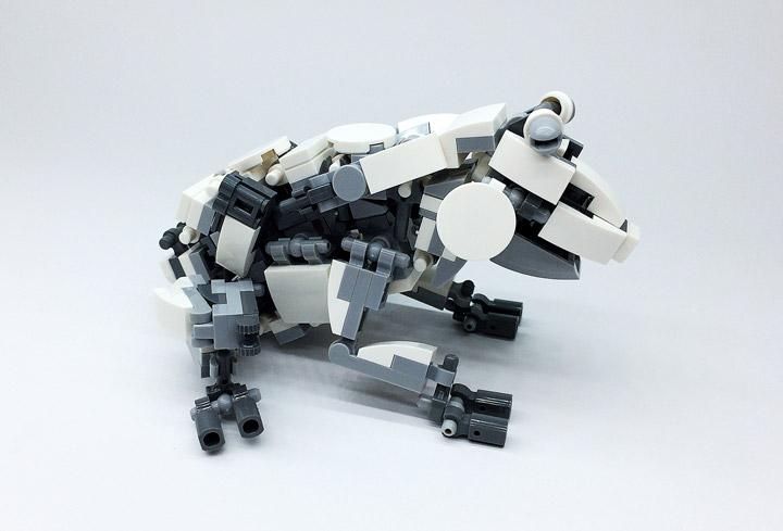 Mitsuru Nikaido Lego Mech Frog