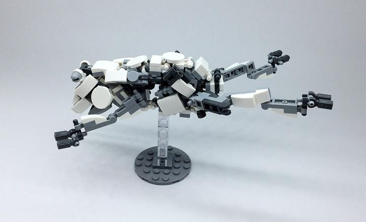 Mitsuru Nikaido Lego Mech Frog Jumping