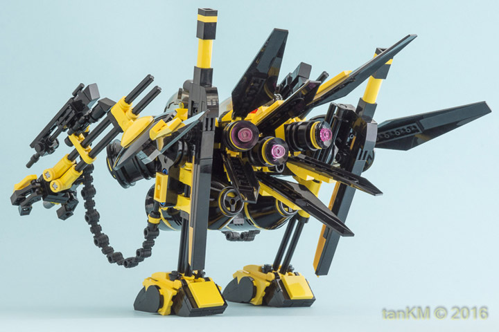 tankm Lego Mech tkm-STILTwalker Butt