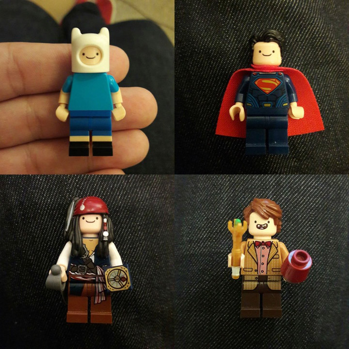 ColmiYveul Lego Finn the Superman