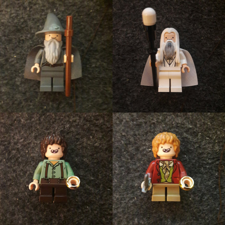 ColmiYveul Lego Finn the Wizard
