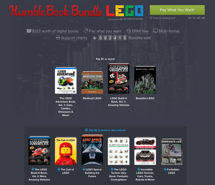 Humble Book Bundle Lego 02