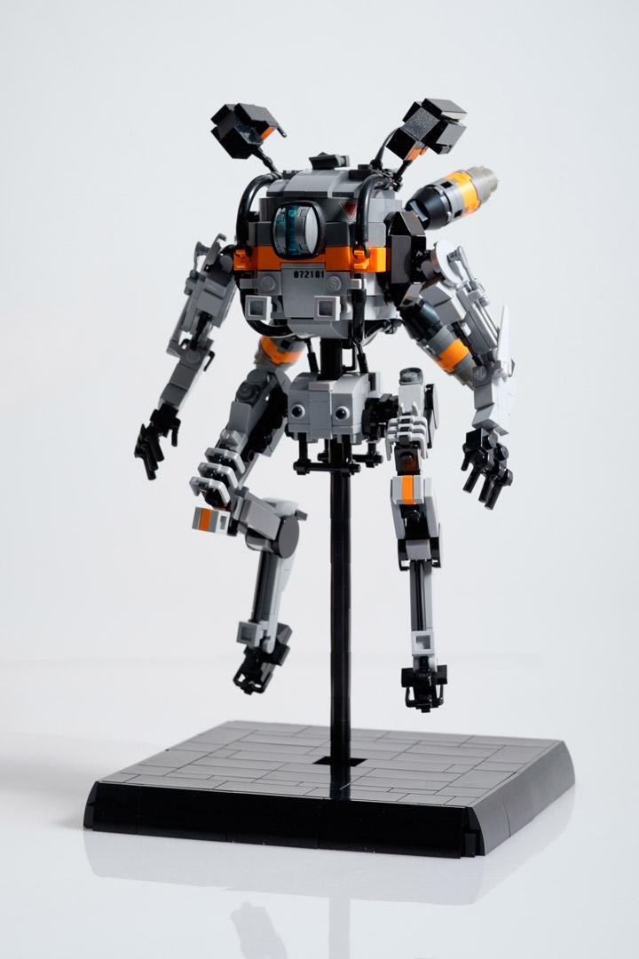 Marius Herrmann Lego Titanfall Northstar