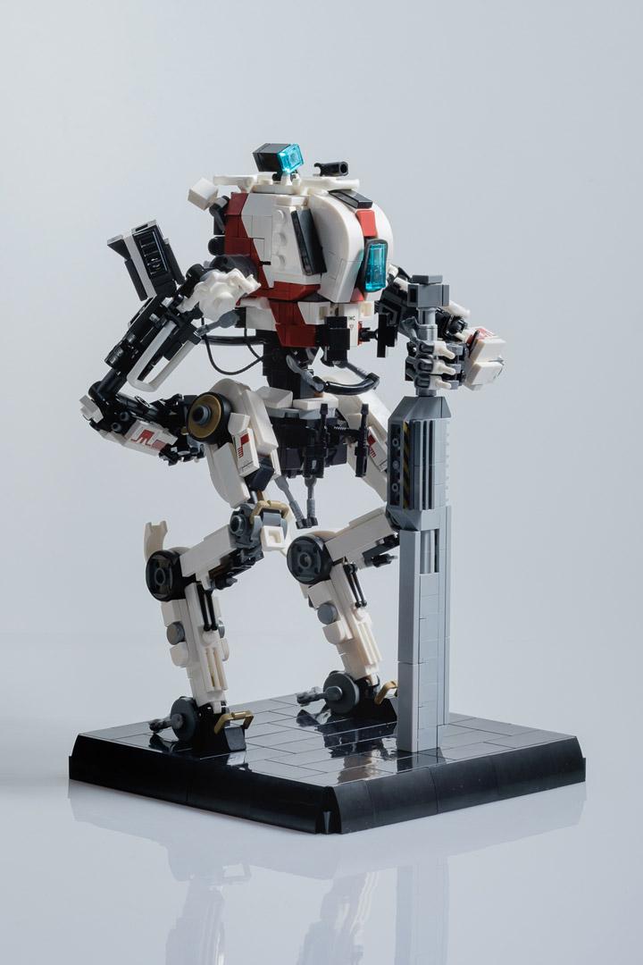 Marius Herrmann Lego Titanfall Ronin