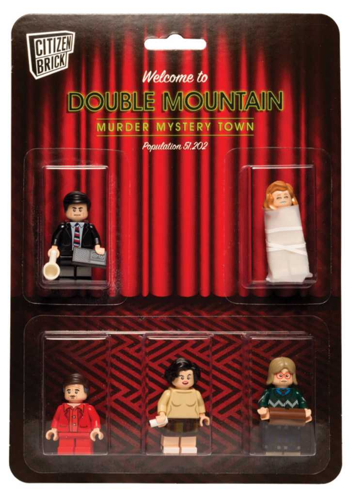 Citizen Brick Twin Peaks Lego Blisterpack