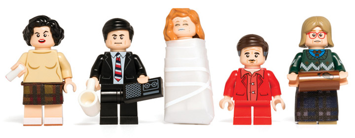 Citizen Brick Twin Peaks Lego Minifigures