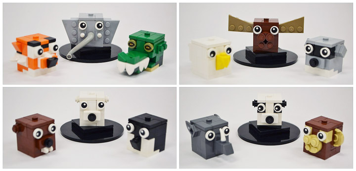 Adam Dodge Lego Animals