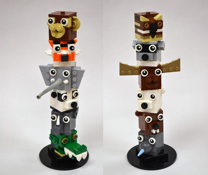 Adam Dodge Lego Animal Stackers