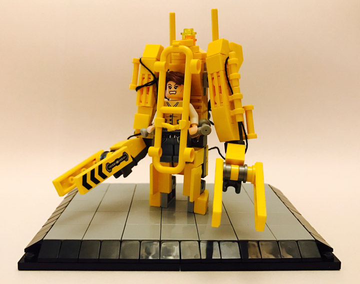Andreas Lenander Lego Alien Caterpillar P-5000 Powered Work Loader