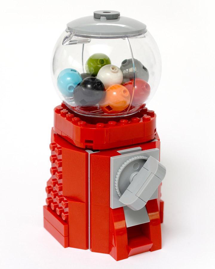 Anthony Sejourne Lego Gumball