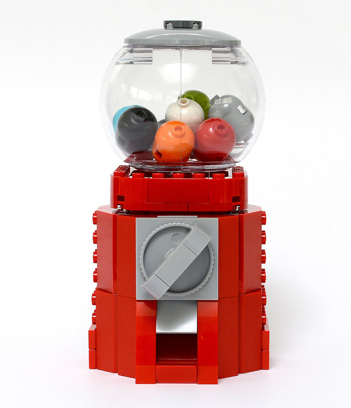 Anthony Sejourne Lego Gumball Machine
