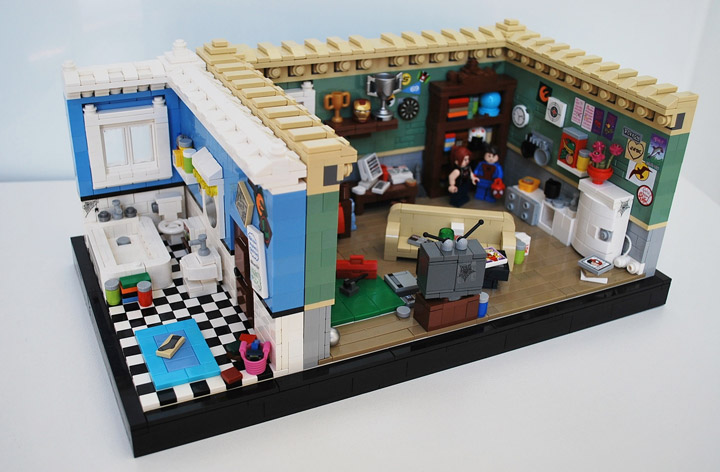 Ben Cossy Lego Spider-Man Apartment