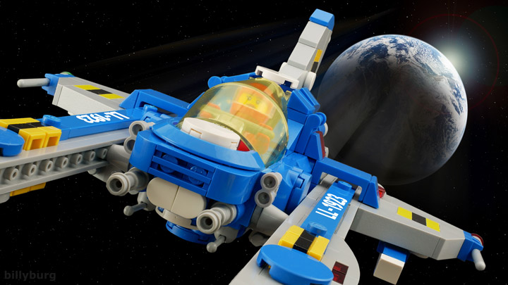 Billy Burg Lego Space Lunar Exploration Geological Outpost 01