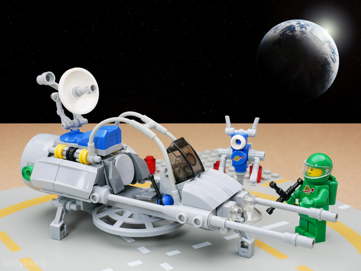 Billy Burg Lego Space Lunar Exploration Geological Outpost 02