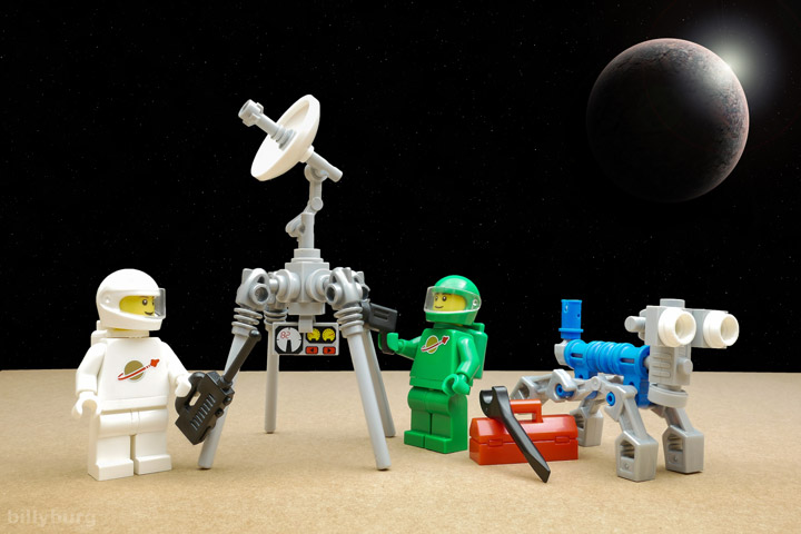 Billy Burg Lego Space Lunar Exploration Geological Outpost 03