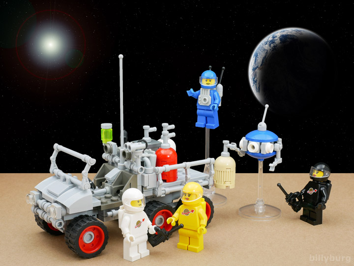 Billy Burg Lego Space Lunar Exploration Geological Outpost 04