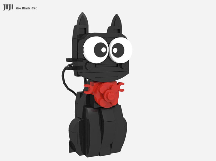 CK HO Lego JiJi the Black Cat