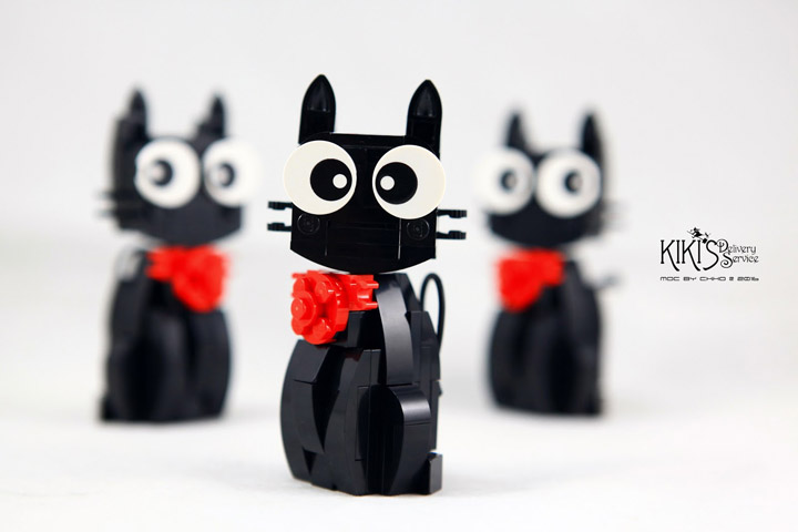 CK HO Lego JiJi the Black Cat Multi