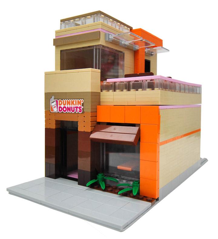 Eric Badis Lego Dunkin Donuts