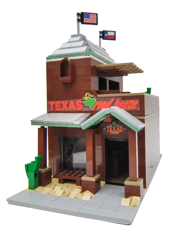 Eric Badis Lego Texas Road House