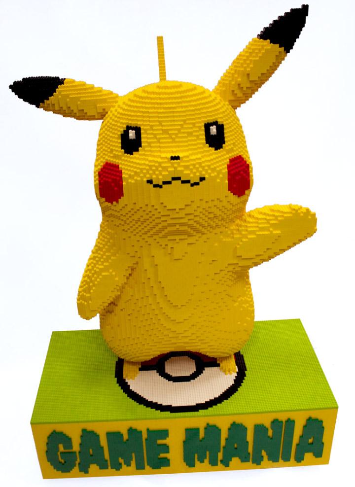 Game Mania Lego Giant Pikachu