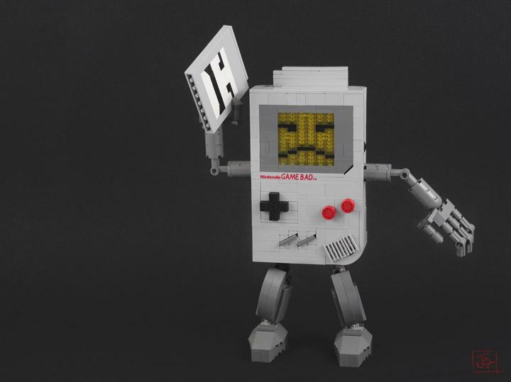 JBF Lego Nintendo Game Bad