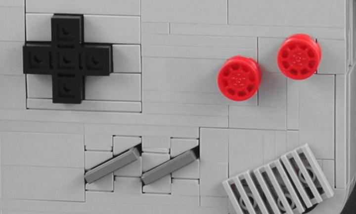 JBF Lego Nintendo Game Bad Detail
