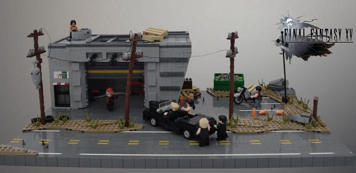 Joseph Z Lego Final Fantasy XV