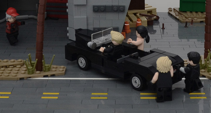 Joseph Z Lego Final Fantasy XV Detail