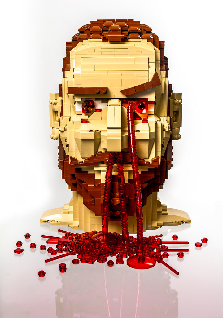 Julius von Brunk Lego Head Game Over